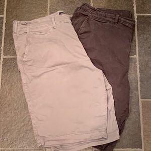 2 Am. eagle flex shorts